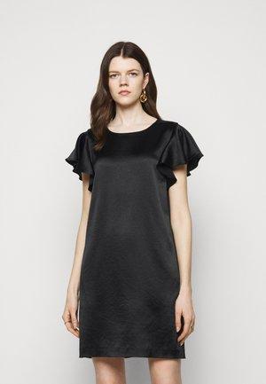 BRYCE RUFFLE DRESS - Cocktail dress / Party dress - black