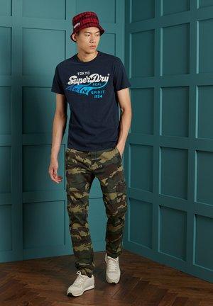 TRI  - Print T-shirt - rich navy