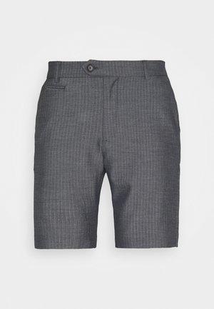 MALUS - Shorts - dark navy/light grey melange