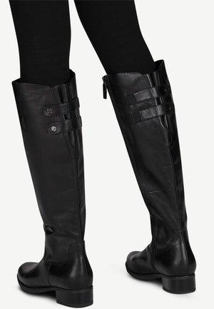 Klassiska stövlar - black leather
