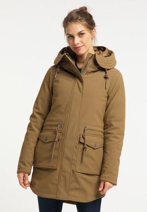 Abrigo de invierno - dunkelbeige