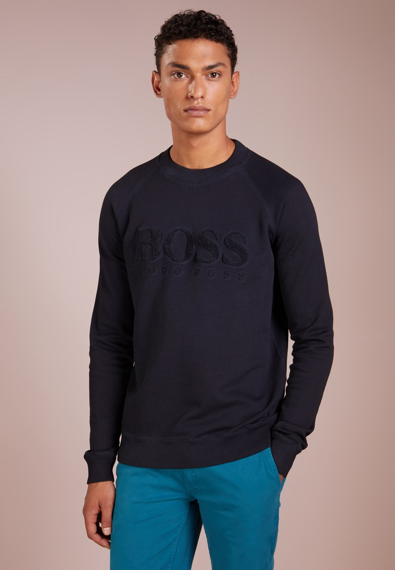 BOSS - WAYMAN - Sweatshirt - dark blue
