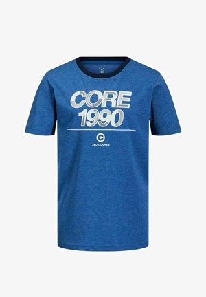 JCOBERG TURK TEE  - Print T-shirt - galaxy blue
