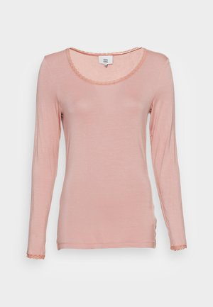 ESSENTIAL LACE  - Long sleeved top - adobe rose