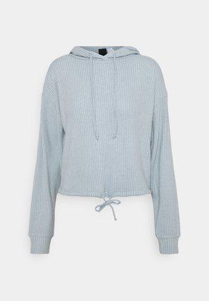 STINA HOODIE - Pyjama top - blue fog