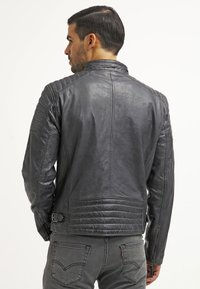 Gipsy - CHESTER - Leather jacket - dunkelgrau - 2
