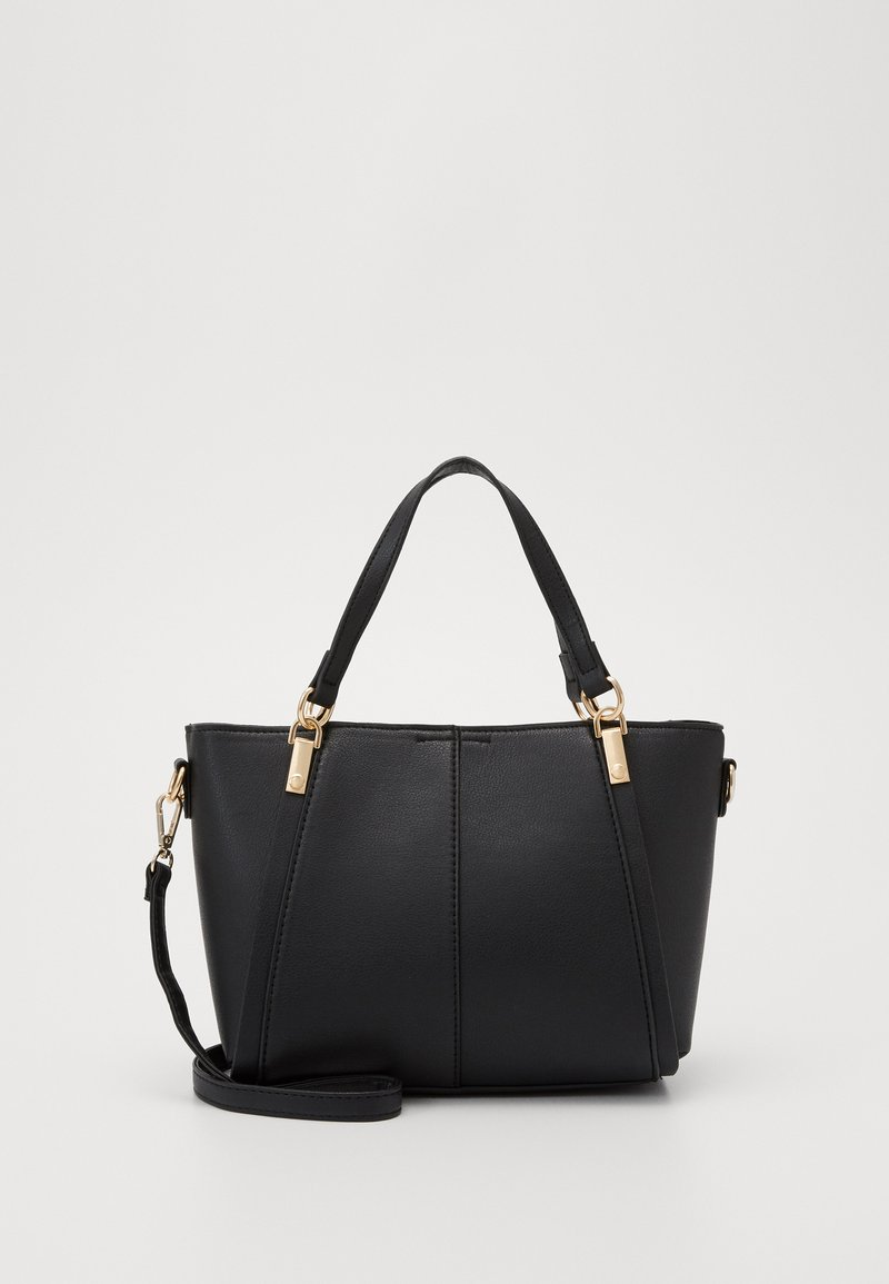 New Look - FRANCIS MIDI TOTE - Tote bag - black