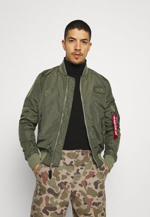 Bomber Jacket - dark olive