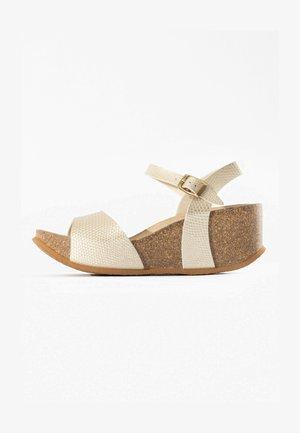 MAYA  - Sandalen met sleehak - beige