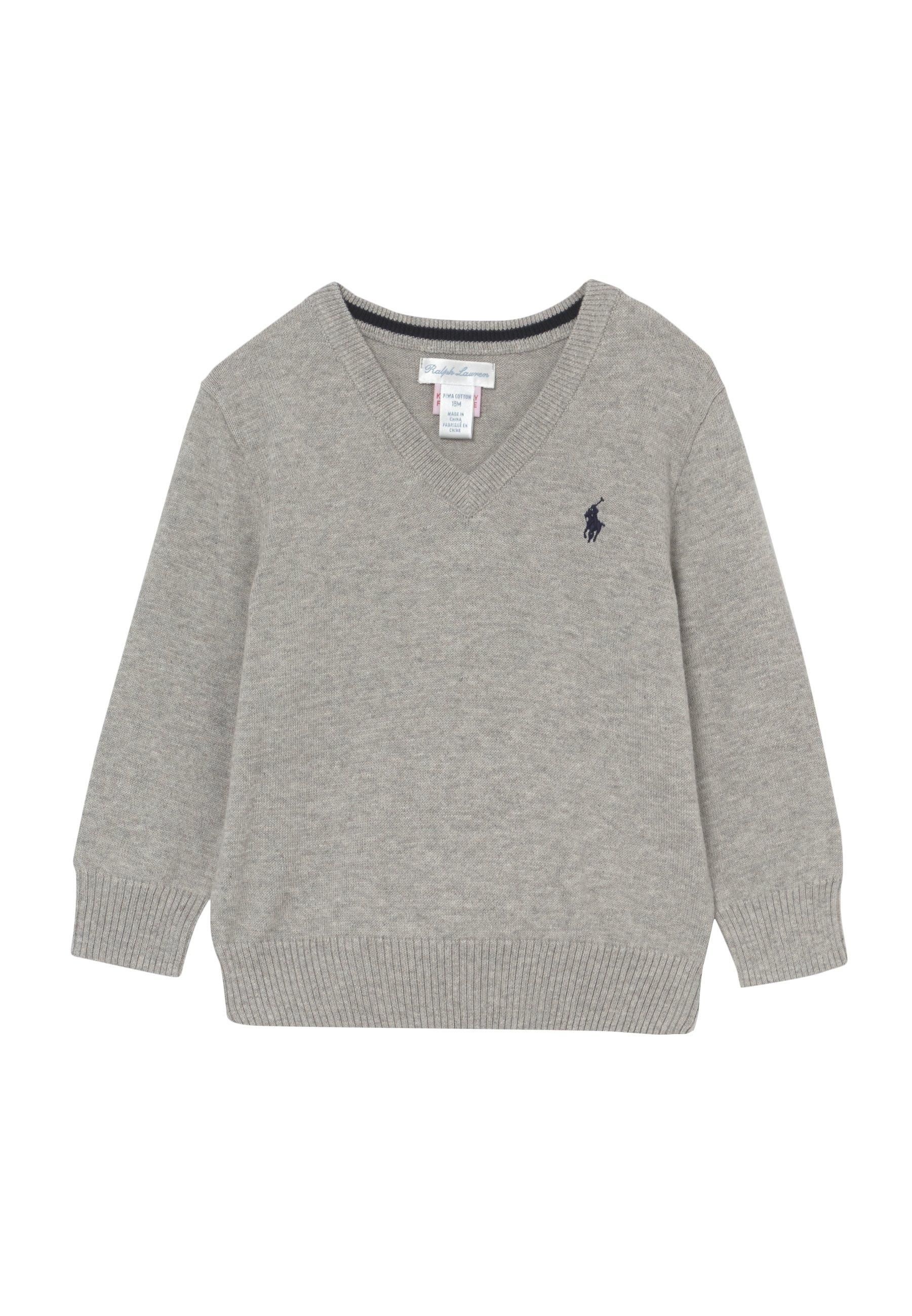 Große Förderung Polo Ralph Lauren SWEATER BABY - Strickpullover - dark sport heather | Damenbekleidung 2020