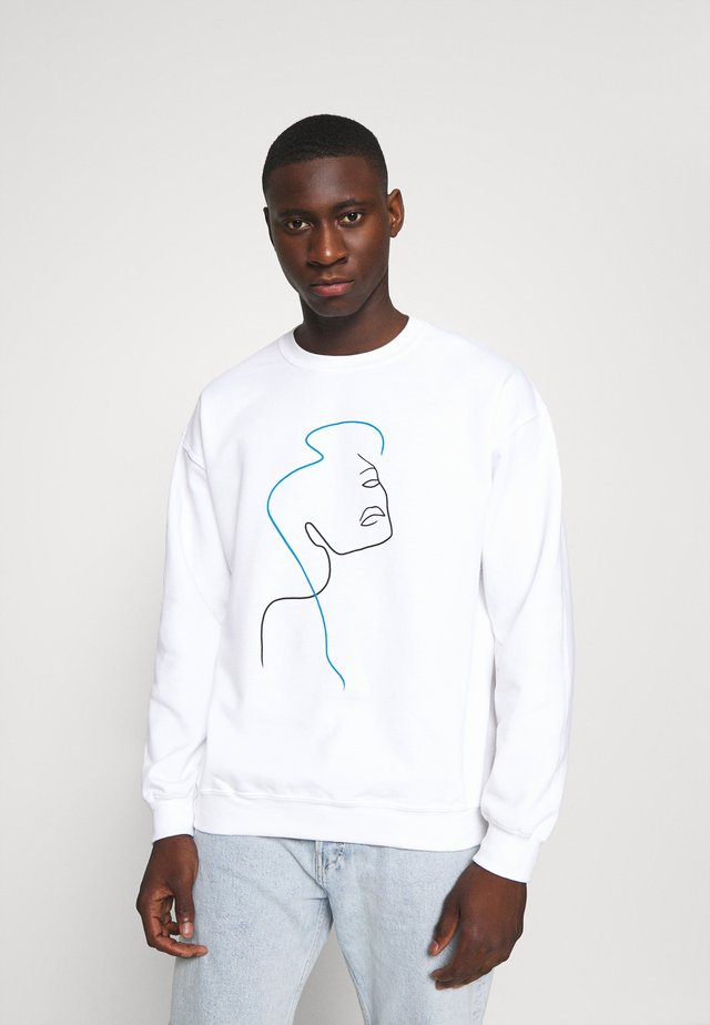 FACE - Sweatshirt - white