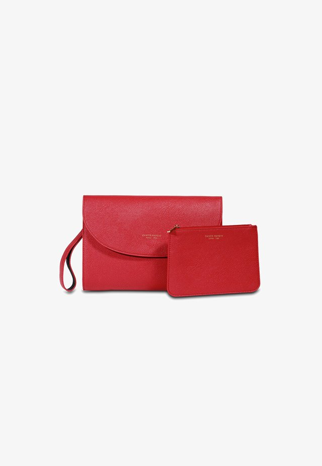 Clutch - rosso ciliegia