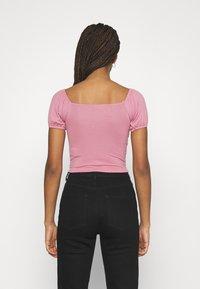 Trendyol - Print T-shirt - rose - 2