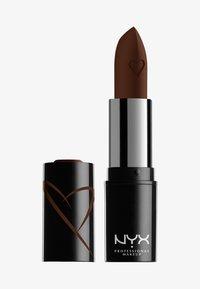 Nyx Professional Makeup - SHOUT LOUD SATIN LIPSTICK - Lipstick - grind - 0