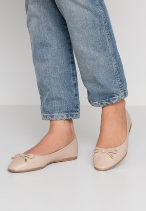 PARTY METAL RAND - Ballet pumps - peach