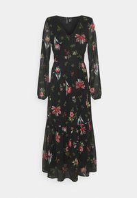 Vero Moda - VMPETRA ANCLE - Denní šaty - black/petra - 4