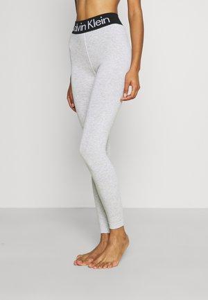Leggings - Trousers - light beige melange