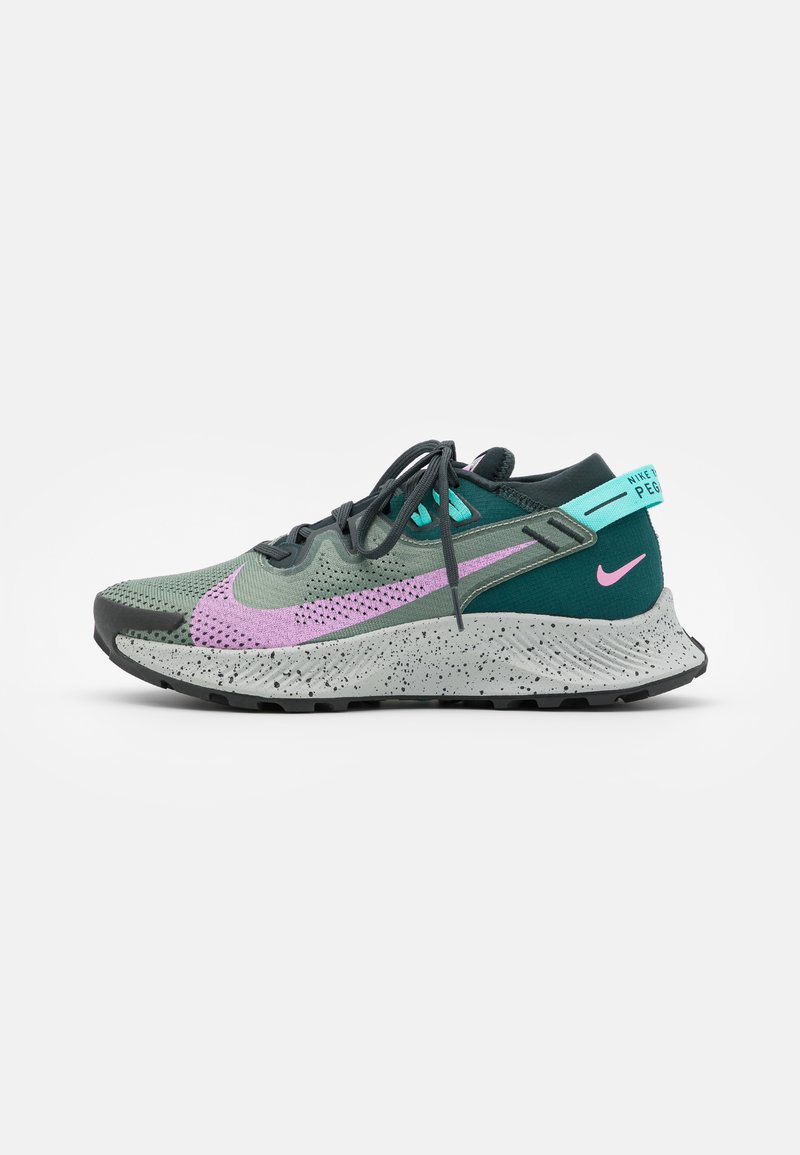 Nike Performance - PEGASUS TRAIL 2 - Zapatillas de trail running - seaweed/beyond pink/spiral sage/dark atomic teal/aurora green/light silver