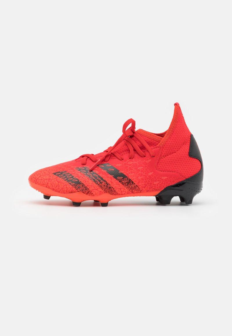 adidas Performance - PREDATOR FREAK .3 FG UNISEX - Korki Lanki - red