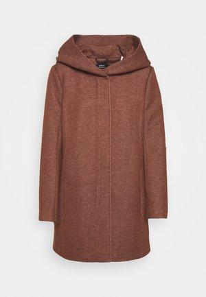 ONLSEDONA LIGHT COAT  - Short coat - chocolate fondant