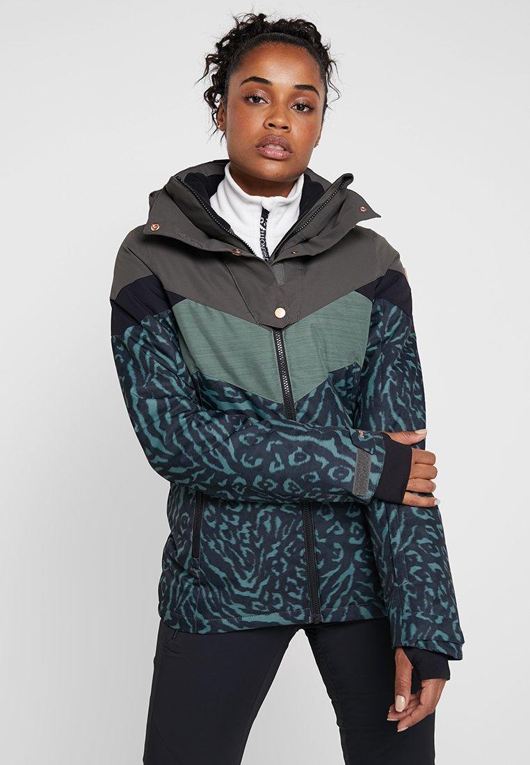 Brunotti - JUNGLEFOWL WOMEN SNOWJACKET - Snowboard jacket - pine grey