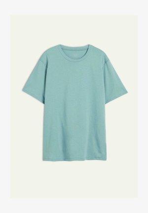 AUS SUPIMA® - T-shirt basic - acquamarina