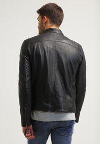 Gipsy - COBY - Leather jacket - schwarz - 2