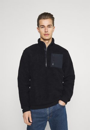 Fleece jumper - dark blue