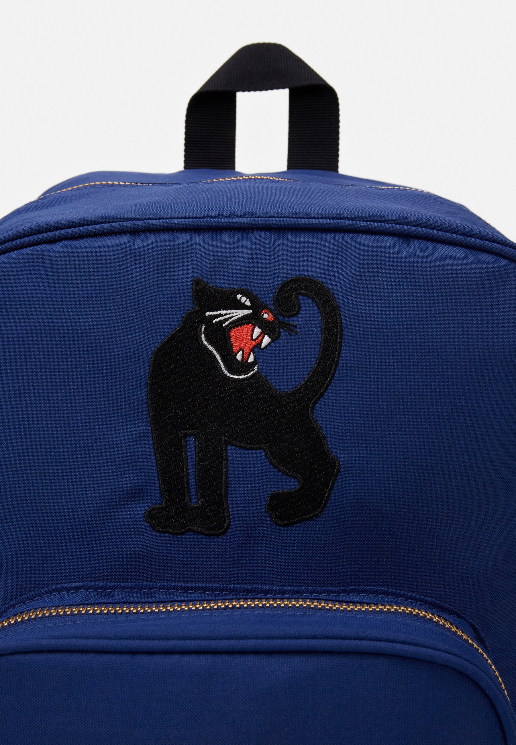 Mini Rodini PANTHER SCHOOL BAG - Ryggsekk - blue/blå Kn8a3FvYrf3kHdV