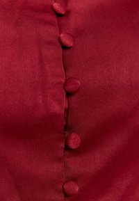 Glamorous - SQUARE NECK CROPPED TOP - Blouse - claret - 2