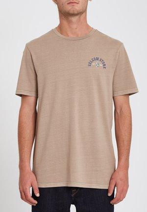 RANCHAMIGO S/S - Print T-shirt - dark taupe