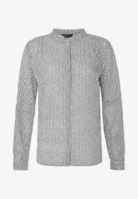Marc O'Polo - BLOUSE STAND UP COLLAR  - Camisa - soft white - 4