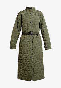 InWear - GURLI COAT - Zimní kabát - beetle green - 5