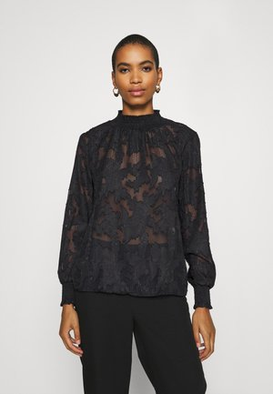 BERTHA BLOUSE - Blůza - black deep