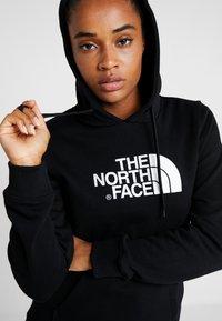 The North Face - WOMENS DREW PEAK HOODIE - Hoodie - black/white - 3