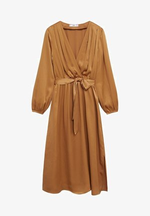 Vestido largo - okker