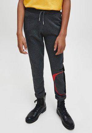 Tracksuit bottoms - dark grey heather