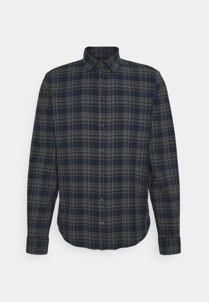 ANTON CHECKED SHIRT  - Overhemd - navy blazer
