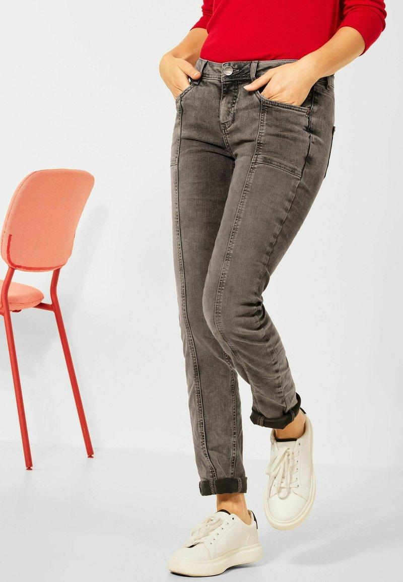 Street One - Slim fit jeans - braun