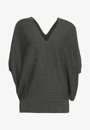VERONIQUE FASHIONISTA - Strikkegenser - medium grey