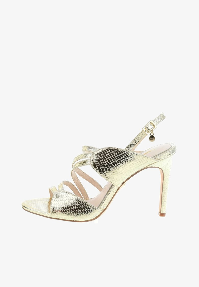 PRIMA MODA - PORTANNA  - High heeled sandals - platinum