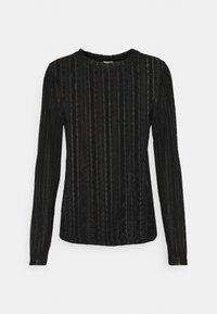 Vila - VIANAMIA - Long sleeved top - black - 4