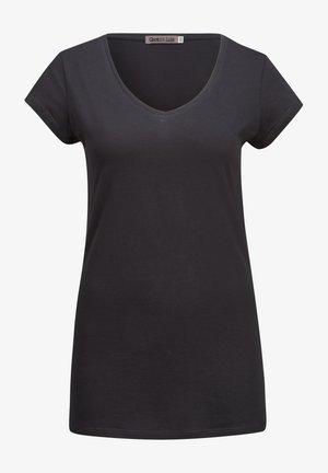 CLARISE - Basic T-shirt - black