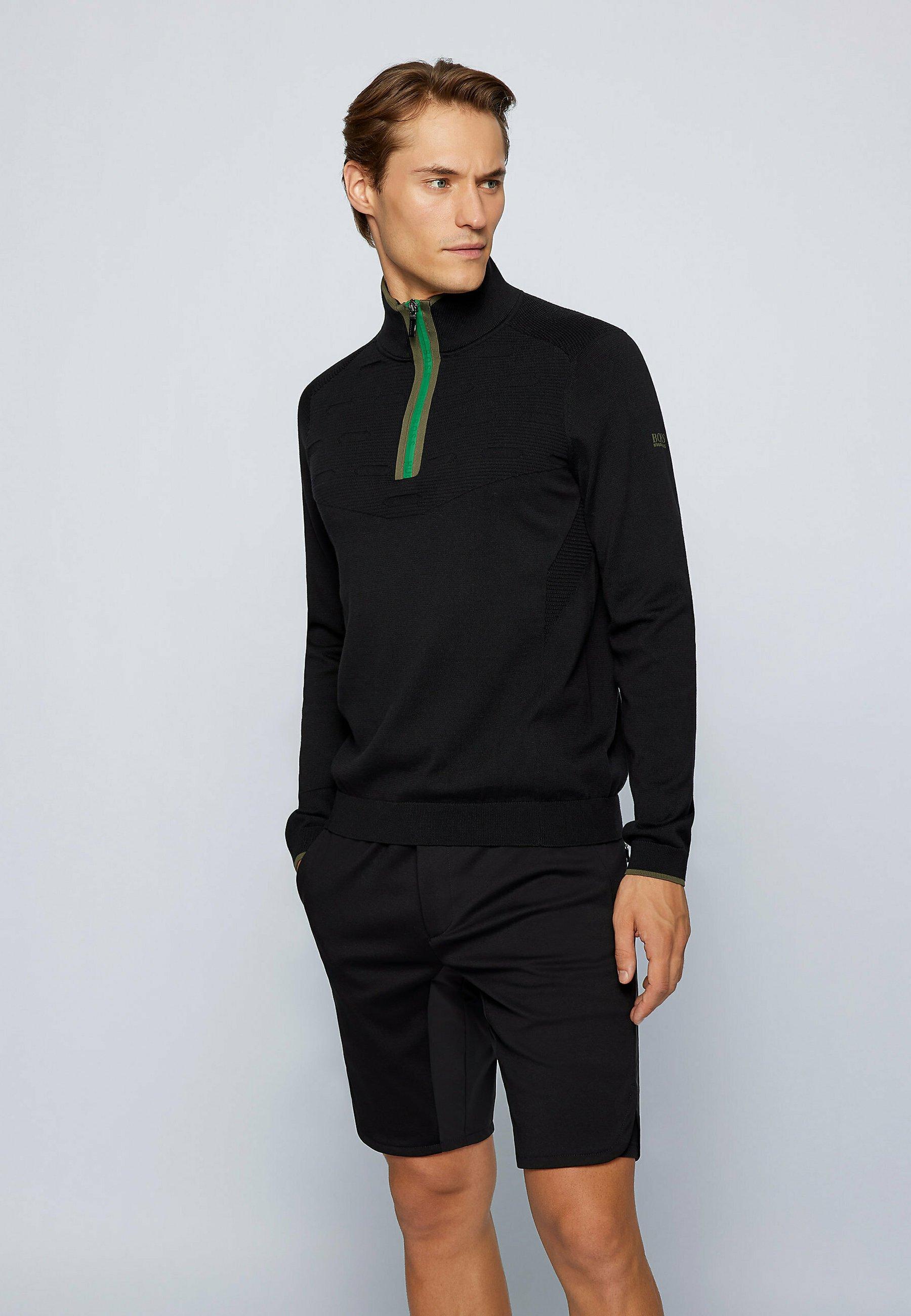 Men ZIEGO - Zip-up sweatshirt