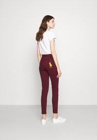 Polo Ralph Lauren - ANKLE - Jeans Skinny Fit - riella burgundy - 2