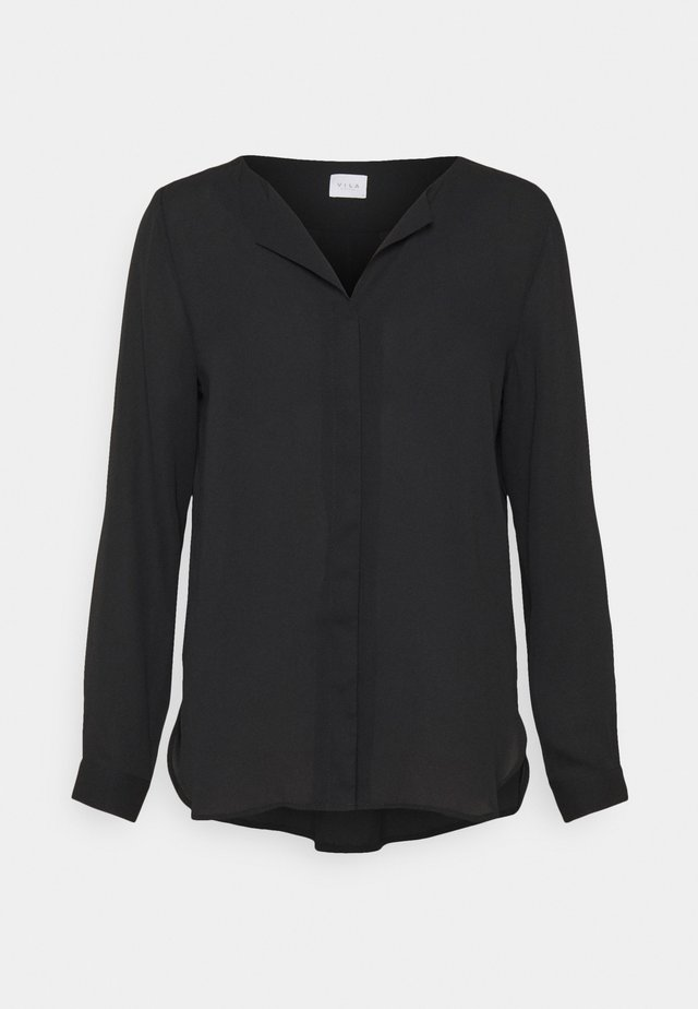 VILUCY SHIRT - Button-down blouse - black