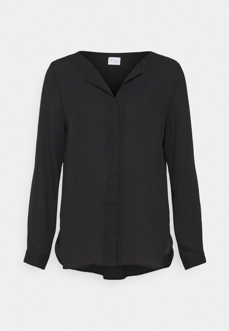 VILA PETITE - VILUCY SHIRT - Košile - black