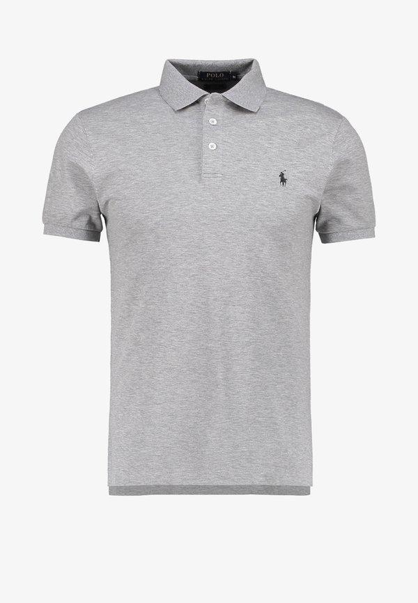 Polo Ralph Lauren Koszulka polo - andover heather/ciemnoszary Odzież Męska COLY