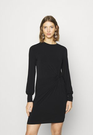 VMTWISTED KNOT SHORT DRESS - Jersey dress - black