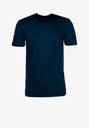 TESSLER - Print T-shirt - blue